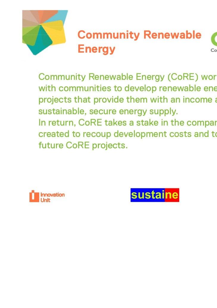 Community Renewable               Insert         Energy                            logo hereCommunity Renewable Energy (Co...