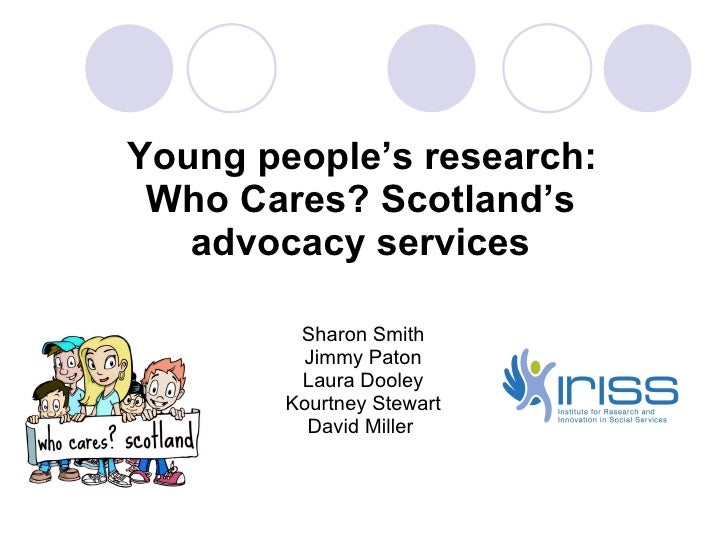 Community research: Young people's research findings