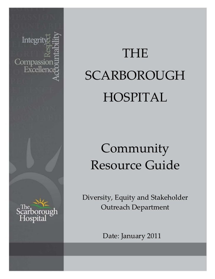 THE     SCARBOROUGH           HOSPITAL                                Community  ...