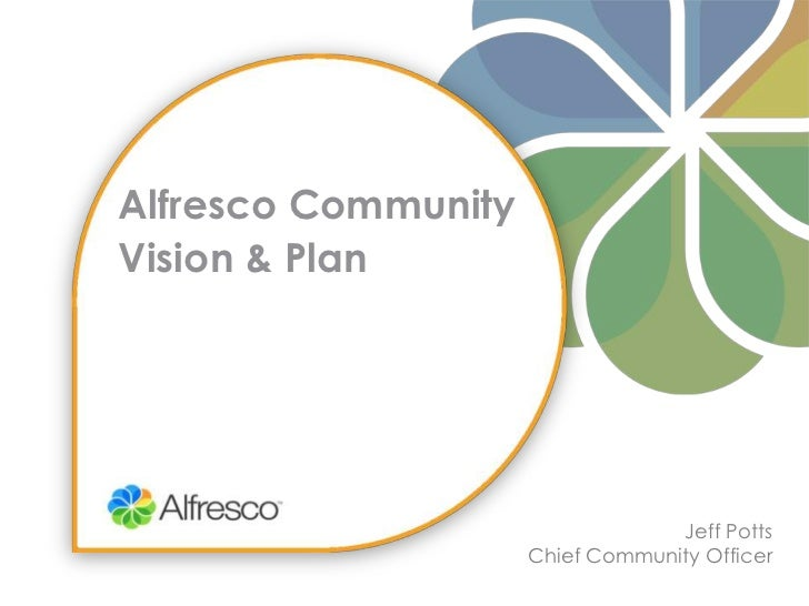 2011 Alfresco Community Vision & Plan