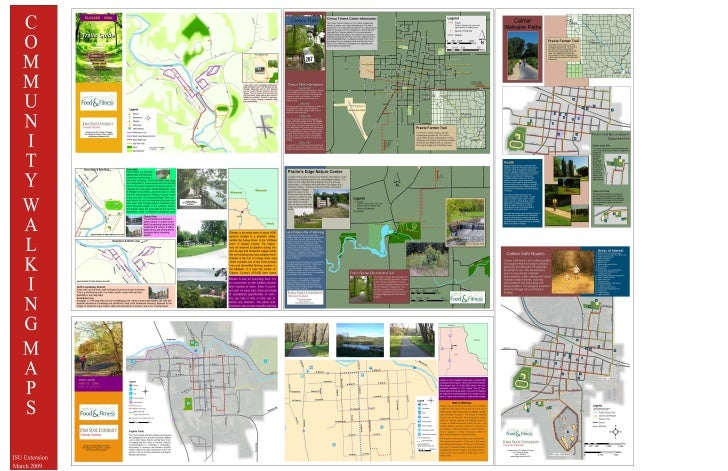 Community Walking Maps