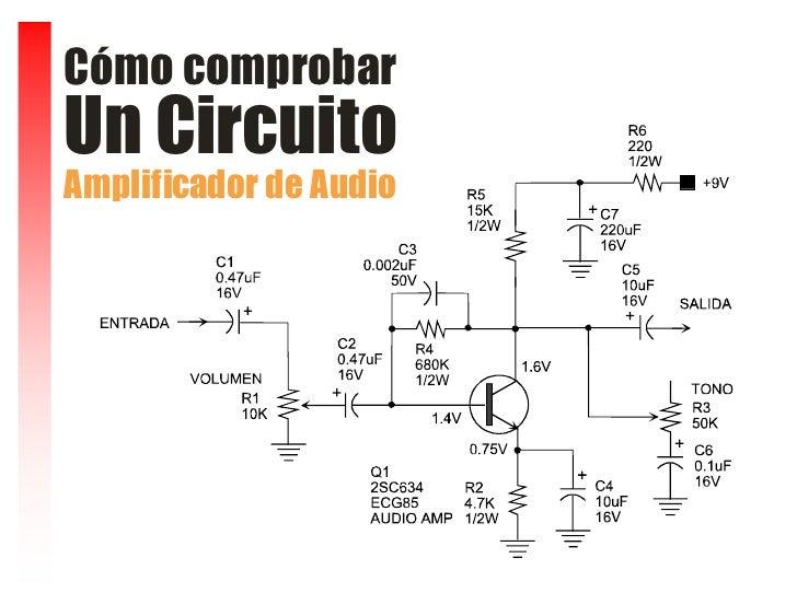 Cómo comprobar Un Circuito Amplificador de Audio