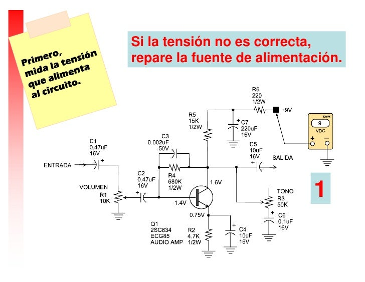 Circuito Amplificador De Audio : Como comprobar un circuito amplificador de audio