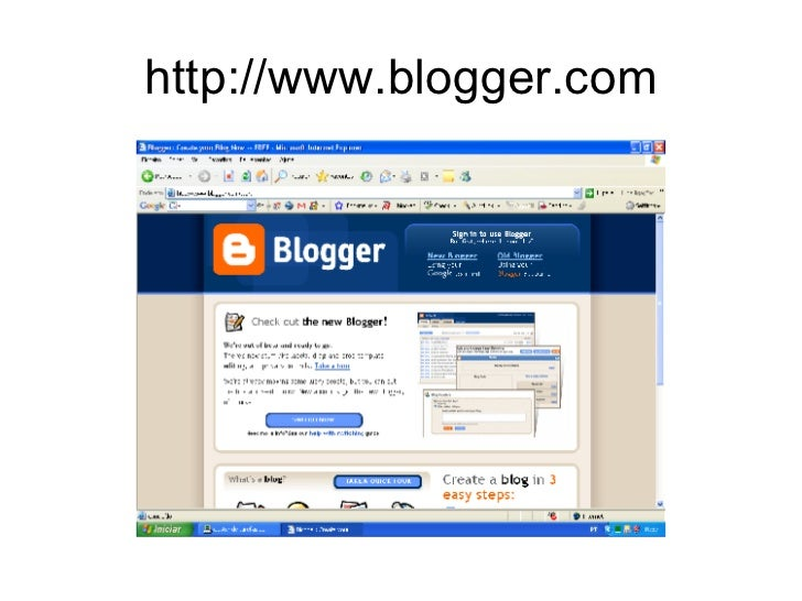 Como Criar e Editar um Blog