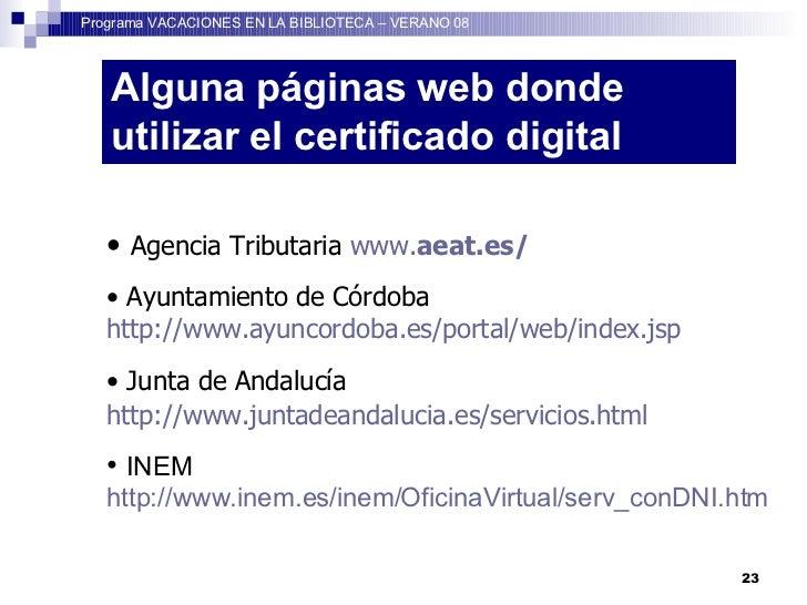 Como obtener el certificado digital for Sellar paro por internet andalucia certificado digital
