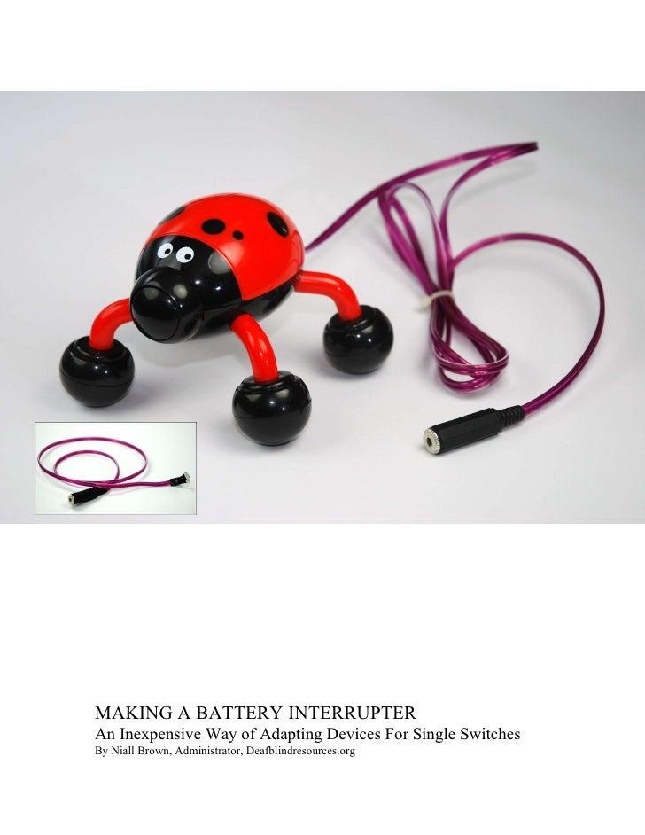 Como adaptar brinquedos para utilização de um switch