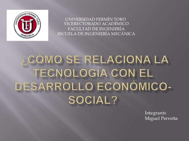 Como afecta la tecnologia a la economia y a la sociedad
