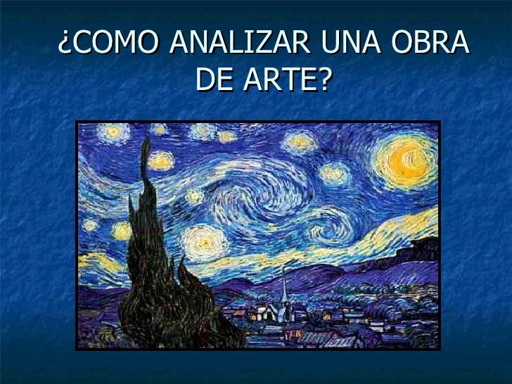 Como analizar una obra de arte