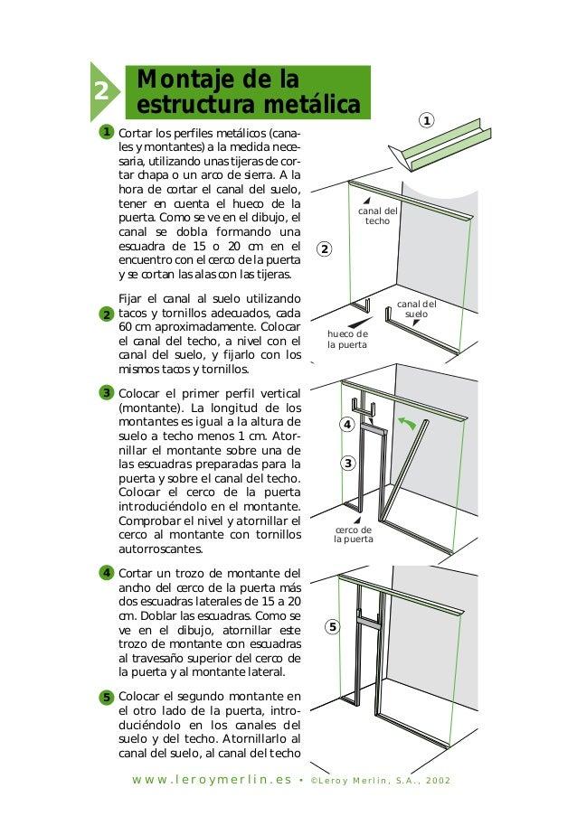 Como aplicar placas de yeso en techos y paredes 2 - Como hacer placas de yeso ...
