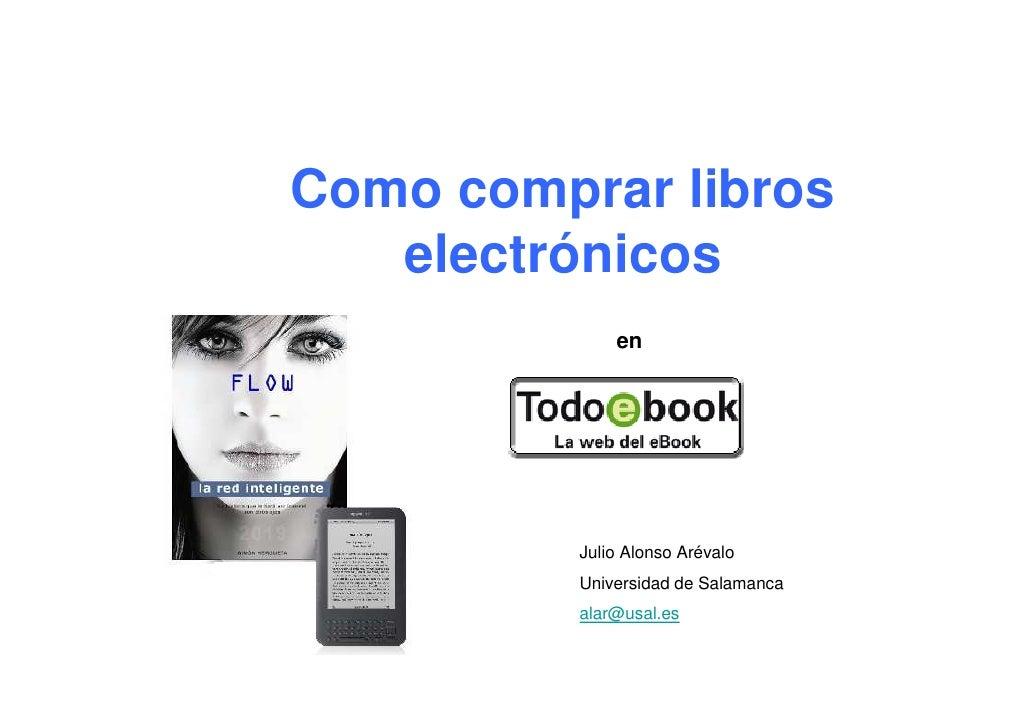 Como comprar libros electrónicos