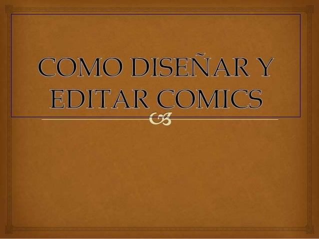   Se llama historieta o comic a una serie de dibujos que constituye un relato , con texto o sin el, así como al libro o ...