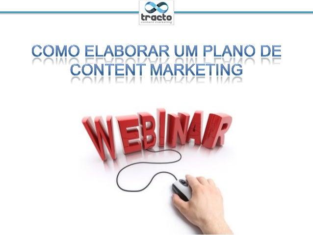 Como elaborar um plano de content marketing