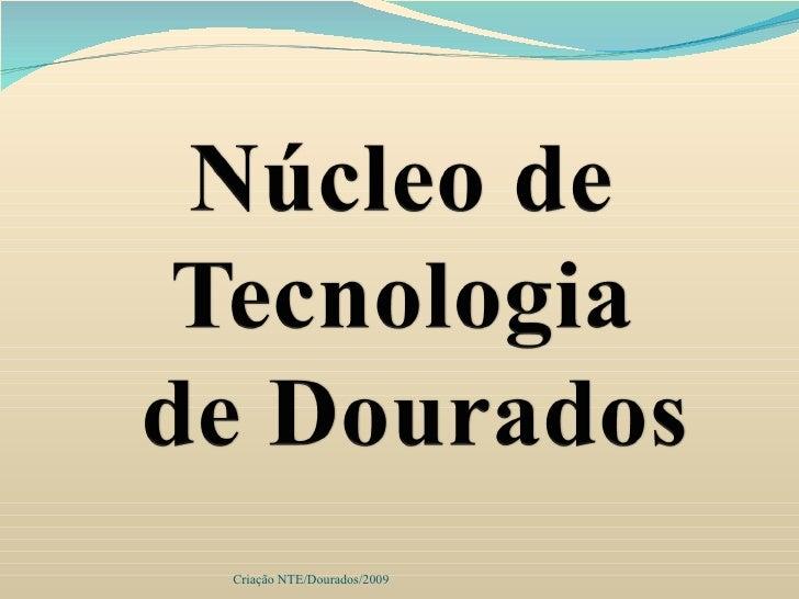 Criação NTE/Dourados/2009