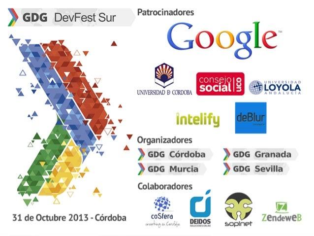 Cómo encontrar un socio tecnológico   - Ponencia en la Google #DevFestSur