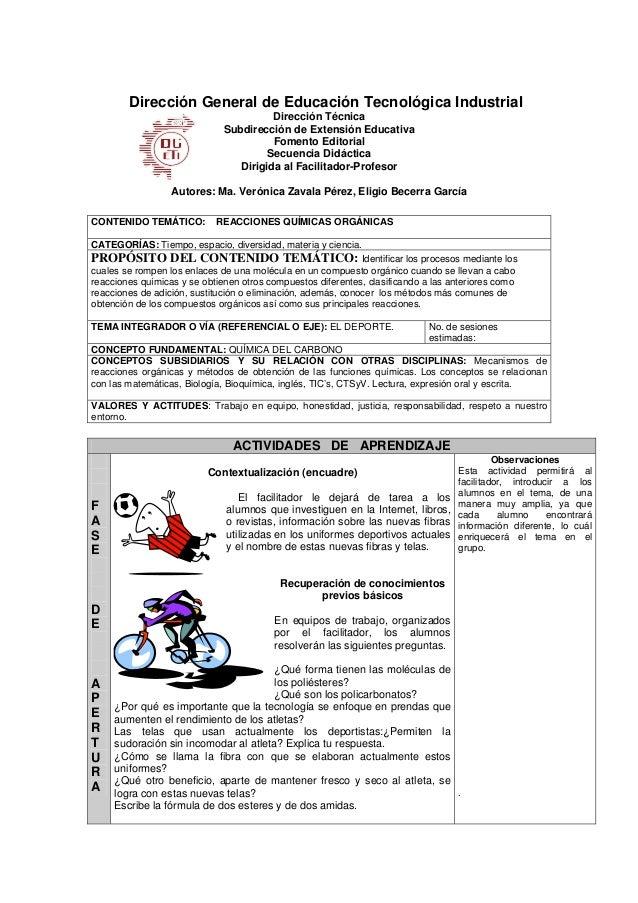 Dirección General de Educación Tecnológica Industrial Dirección Técnica Subdirección de Extensión Educativa Fomento Editor...
