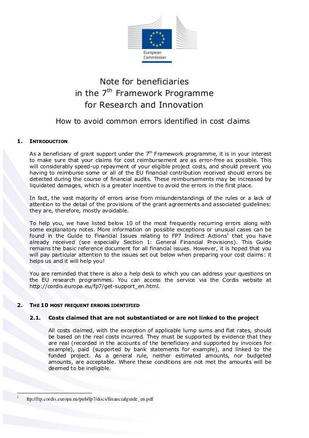 Como evitar errores en fp7