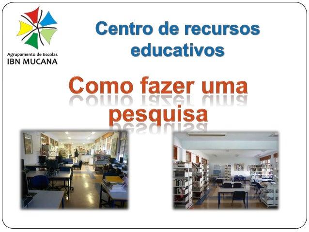 Centro de Recursos Educativos 1ª etapa - Definição de tarefas  Qual é a tarefa solicitada pelo professor? Reformula a tare...