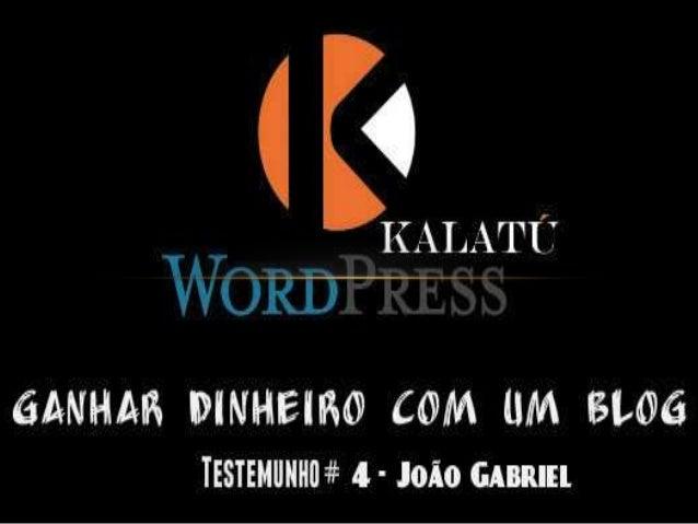 O João é um profissional de imagem, é repórter de imagem num canal genérico da nossa televisão Portuguesa, mas como gosta ...