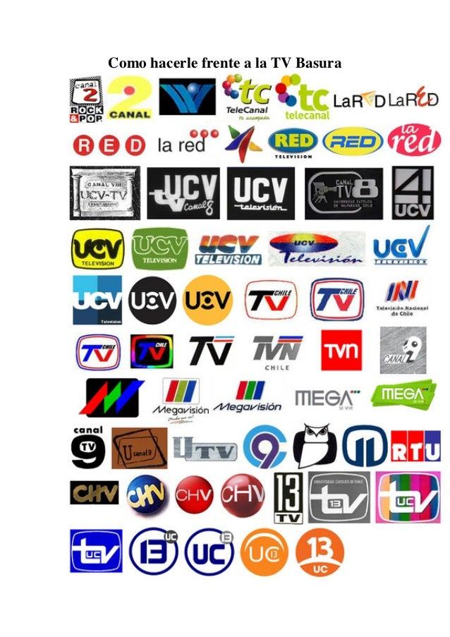 Como hacerle frente a la TV Basura