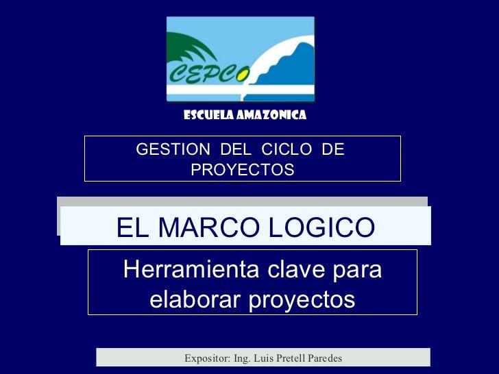 Como hacer proyectos   marco logico