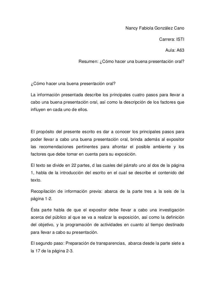Nancy Fabiola González Cano                                                                   Carrera: ISTI               ...