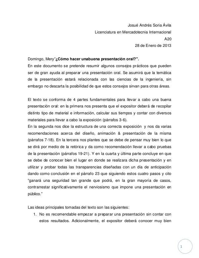 Josué Andrés Soria Ávila                                       Licenciatura en Mercadotecnia Internacional                ...