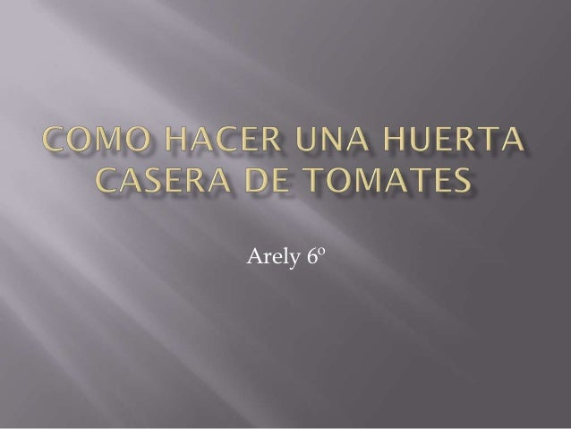 Arely 6º