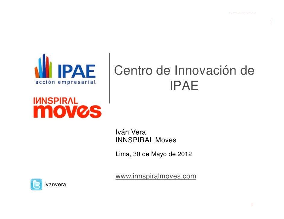 Como innovar desde la empresa - Iván Vera
