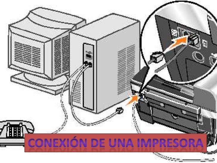 Conexión de una impresora<br />
