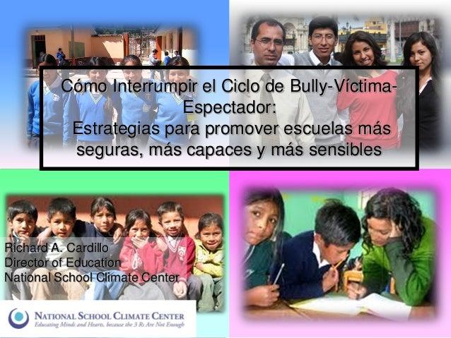 Cómo interrumpir el ciclo de bullying-víctima-espectador