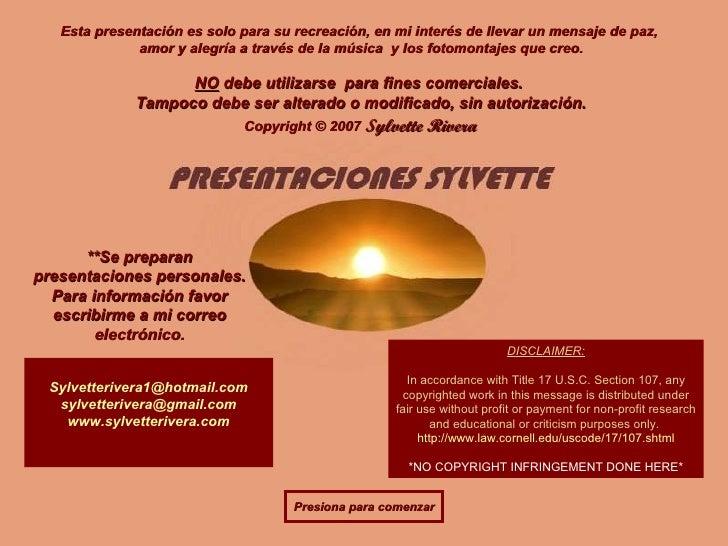Comonocreeren Dios Pps Sylvette2007(Cristiano)