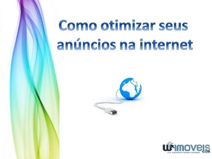 Anunciando com excelênciaMuitas pessoas se perguntam como podem anunciar na internet, em um Portalimobiliário, se destacan...