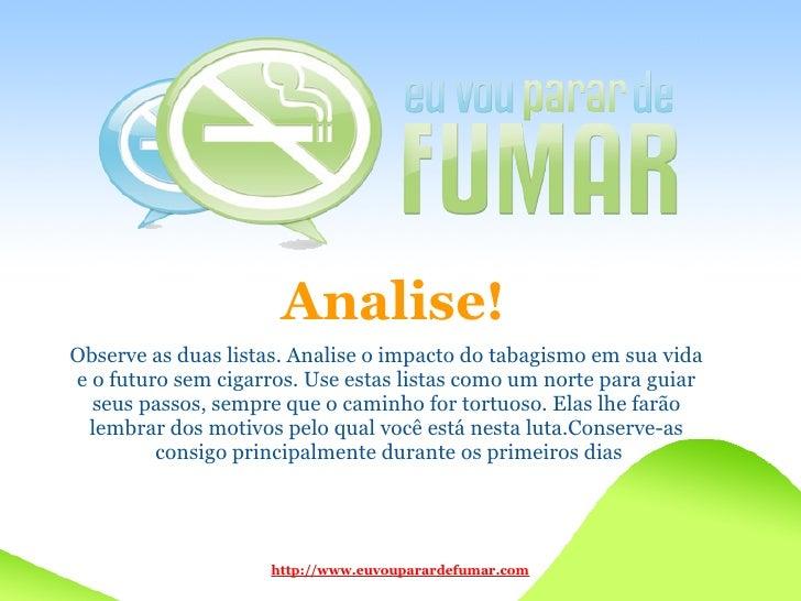 Como é mais fácil deixar de fumar respostas