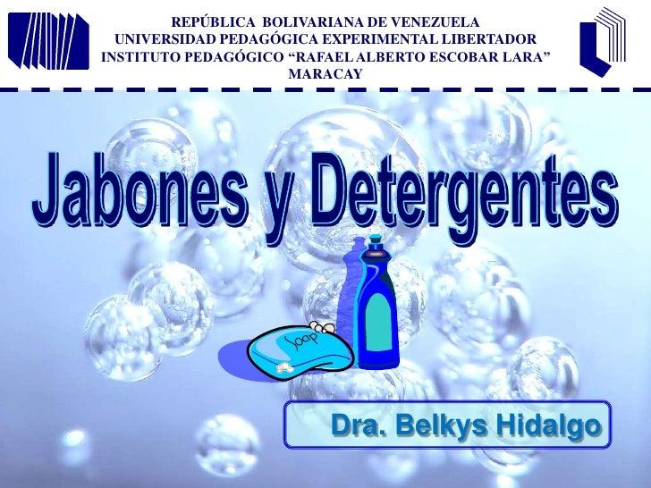 "REPÚBLICA  BOLIVARIANA DE VENEZUELAUNIVERSIDAD PEDAGÓGICA EXPERIMENTAL LIBERTADORINSTITUTO PEDAGÓGICO ""RAFAEL ALBERTO ESCO..."