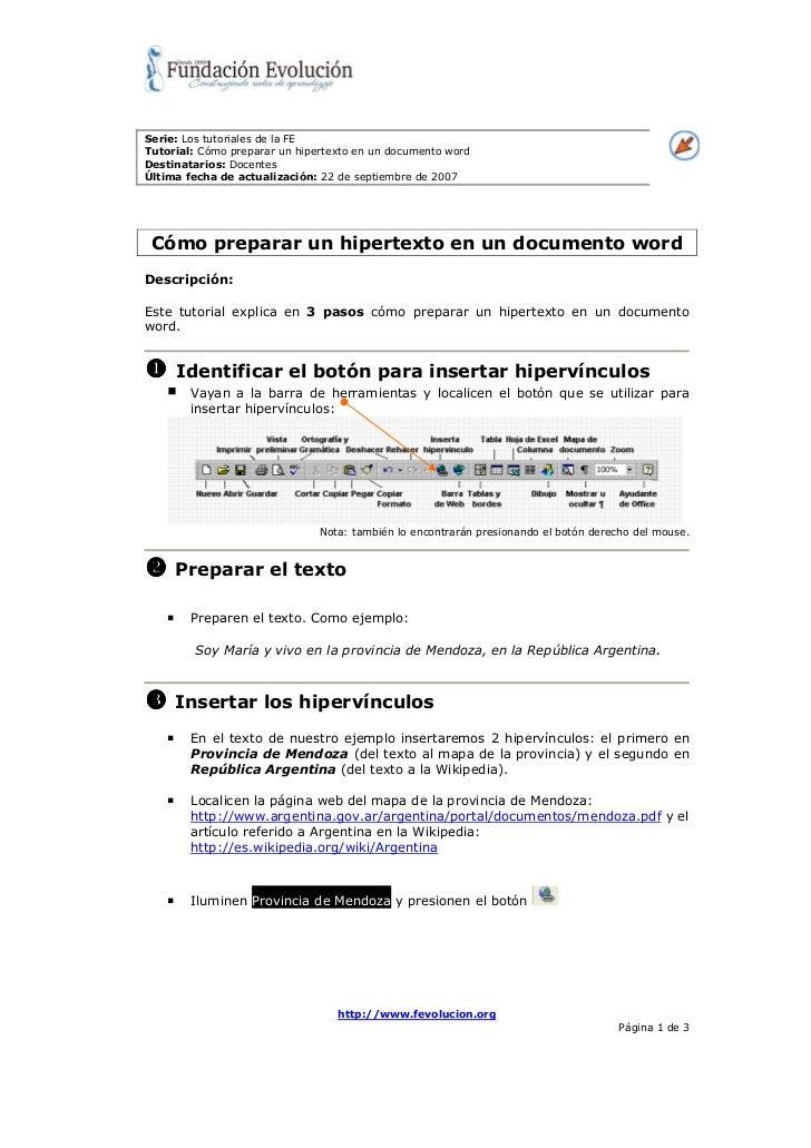 Como preparar un_hipertexto_en_un_documento_word