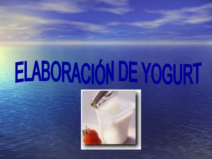como producir yogurt