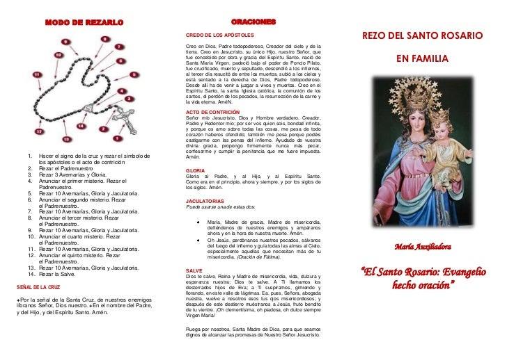 como rezar el santo rosario v