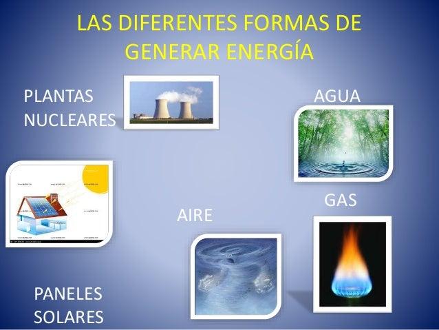 la energía y sus formas