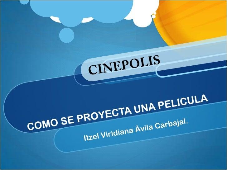 Mi entrevista fue en el cine Cinepolis Pie de la Cuesta.En este cine entreviste a Maximiliano Diaz Campos, que es empleado...