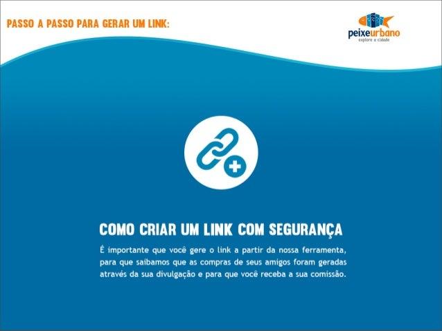 Como utilizar o gerador de links