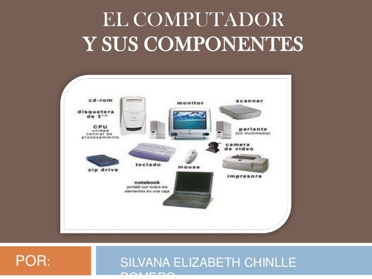 EL COMPUTADOR       Y SUS COMPONENTESPOR:     SILVANA ELIZABETH CHINLLE
