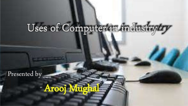 Uses of Personal Computers in Business