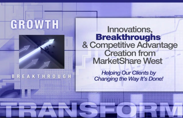 ChangingtheWayIt'sDoneConcept Creation&DevelopmentCreation, definition and packaging ofnew and existing process specifics ...