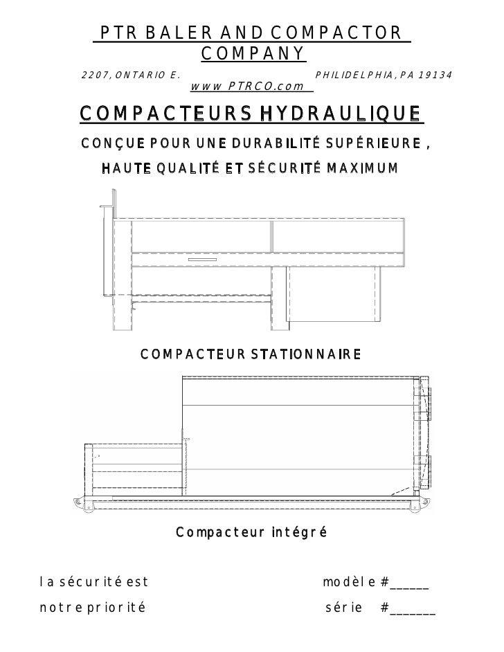PTR BALER AND COMPACTOR                 COMPANY      2207, ONTARIO E.                   PHILIDELPHIA, PA 19134            ...