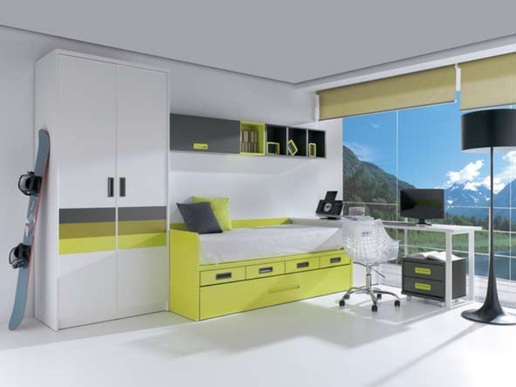 Dormitorios compactos juveniles modernos - Muebles juveniles dormitorios ...