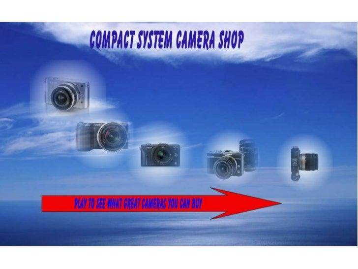Compact System Camera Shop