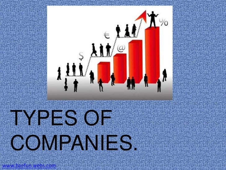 types of companies Business basics & types write a business plan the first step in making a decision to start a business is writing a business plan whether big or small, every business should have a written business plan before moving forward.