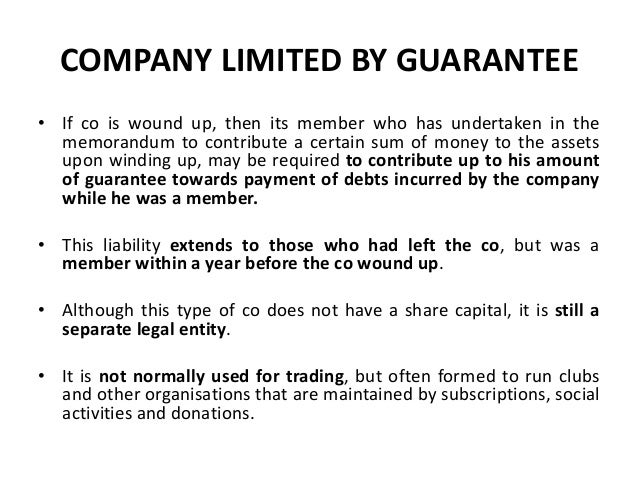 unlimited company under malaysian company law Q: what are the main vehicles used in malaysia to establish a business  an  unlimited company – where no limit placed on the liability of its members and its.