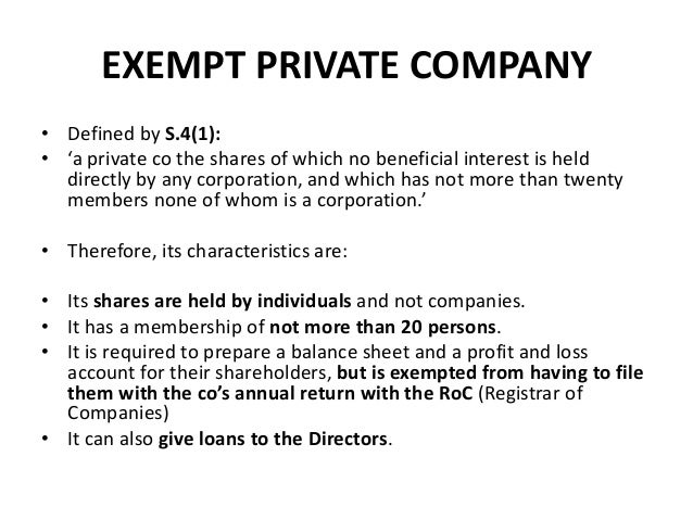 Business law in malaysia exempt private company defined by s41 a stopboris Gallery