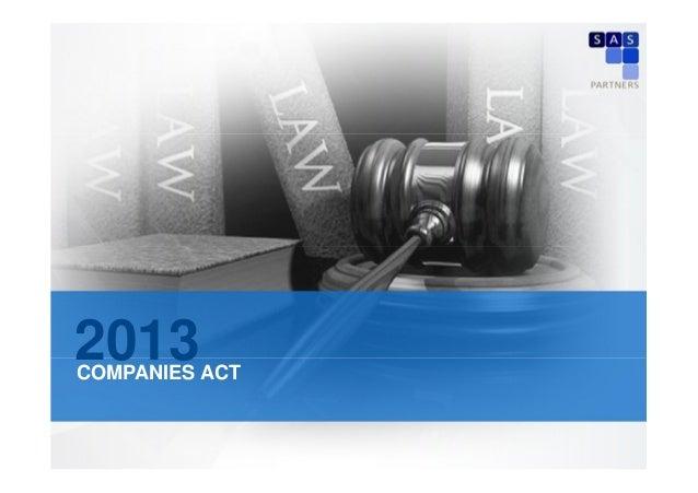 2013  COMPANIES ACT